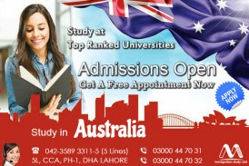 Apply Australia Study Visa Through Our Experts…