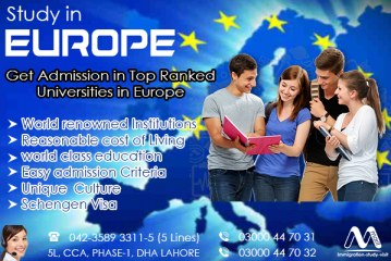 Apply Study In Europe through our Experts..