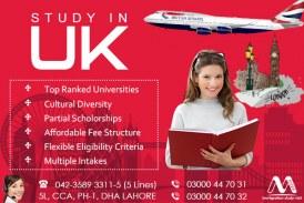 UK Study Visa.