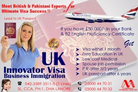 Apply UK Innovator Business Immigration Visa Through Our British & Pakistani Experts.