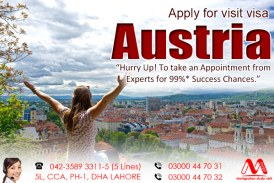 Apply Austria Visit Visa Through Our Experts Team