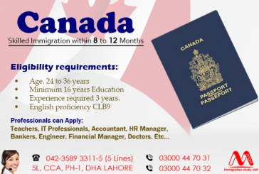 Apply Canada Skilled Immigration Visa Through our Experts.