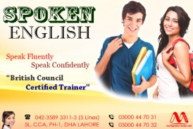Spoken English Centre in DHA Lahore