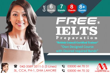 Free IELTS Preparation Centre In Dha Lahore