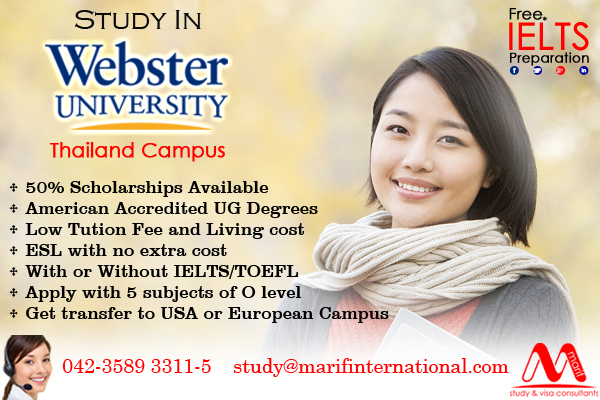 Admission in Thailand Webster University