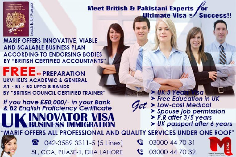 Get UK Innovator Visa through Us