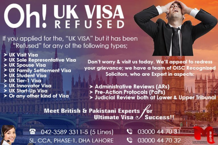 UK Visa Refused