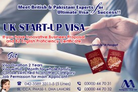 Apply UK Start-up Visa Through our Experts