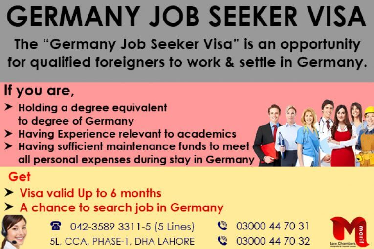 Get Germany Job Seeker Visa
